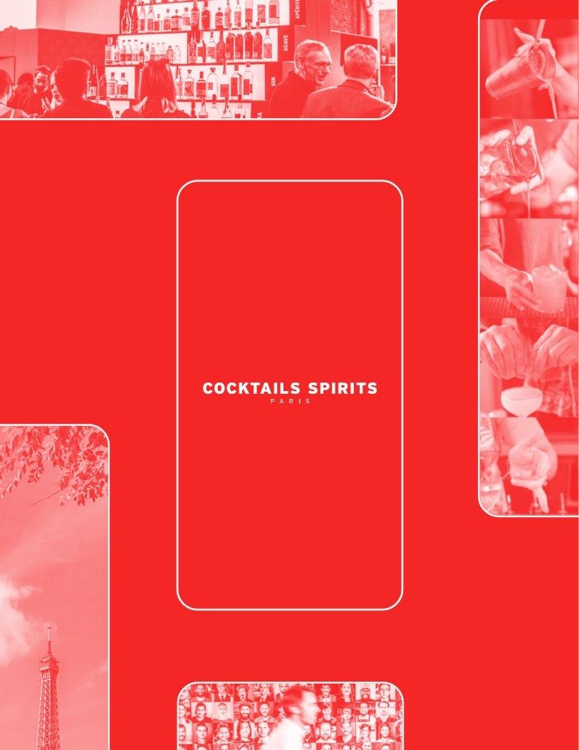 Cocktails Spirits 2019 — Digital design